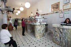 Italian butcher shop Royalty Free Stock Photos