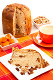 italian cake with nuts Stock Image