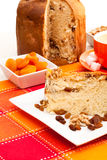 Italian cake with nuts Royalty Free Stock Images