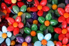 Italian Candy Confetti Flowers, Sulmona, Italy Royalty Free Stock Image