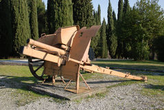 Italian Cannon Stock Photography