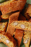 Italian Cantucci biscuits Royalty Free Stock Photo