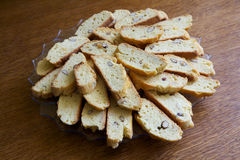 Italian cantuccini Royalty Free Stock Images