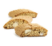 Italian Cantuccini Biscuits Stock Images