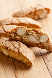 Italian cantuccini cookies Royalty Free Stock Photography