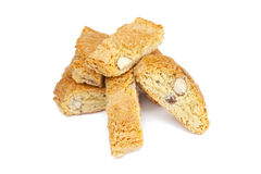 Italian cantuccini cookies Royalty Free Stock Photo
