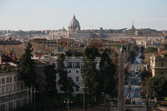 The italian capital Stock Photo