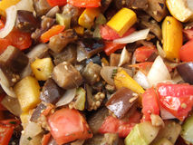 Italian Caponata. A close up shot of an italian appetizer Stock Images