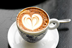 Italian cappuccino Stock Images