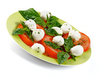 Italian Caprese Salad Royalty Free Stock Photo