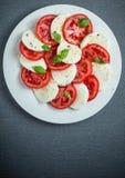 Italian Caprese salad Stock Image