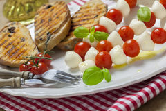 Italian caprese Royalty Free Stock Images