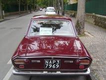 Italian car back 1 Stock Image