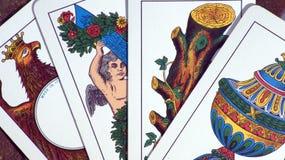 Italian cards Stock Photo
