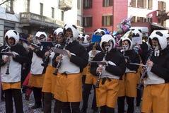 Italian carnival - the band Royalty Free Stock Image