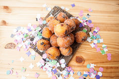 Italian carnival cakes. Stock Images
