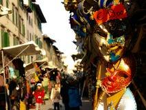 Italian carnival masks Royalty Free Stock Photo