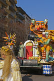 Italian carnival parade Royalty Free Stock Images