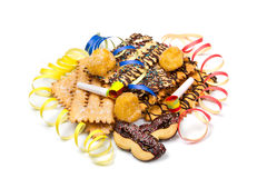 Italian carnival sweet food Stock Images