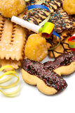 Italian carnival sweet food Royalty Free Stock Images