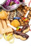 Italian carnival sweet food Stock Image