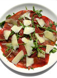 Italian Carpaccio plate Royalty Free Stock Photography