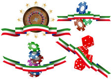 Italian casino Stock Image