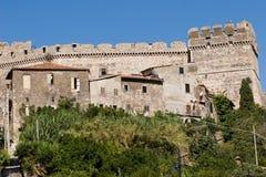 Italian castle Stock Image