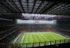Italian Championship soccer game Royalty Free Stock Images