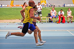 Italian championships of athletics for paralympic Stock Photography