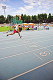 Italian championships of athletics for paralympic Stock Image