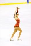 Italian Championships of Figure Skating 2012 Royalty Free Stock Photos