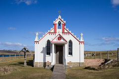 Italian Chapel facade, Orkney Royalty Free Stock Photos