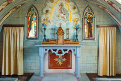 Italian Chapel on Lamb Holm Royalty Free Stock Images