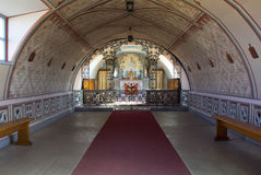 Interior of Italian Chapel, Orkney Stock Photos