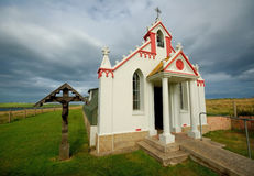 Italian Chapel, Orkney Islands Royalty Free Stock Photography