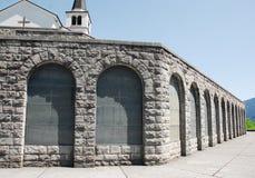 Italian Charnal House at Kobarid Stock Images