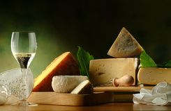 Italian cheese Stock Photography