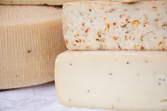 Italian cheese Stock Photography