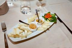 Italian Cheese Assortment Stock Photos