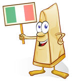 Italian cheese cartoon Stock Photography