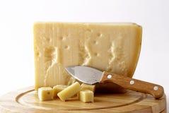 Italian cheese - grana padano royalty free stock image