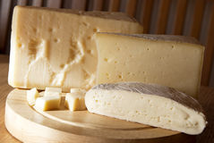Italian cheeses Royalty Free Stock Photo
