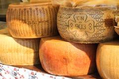 Italian cheeses Royalty Free Stock Photography