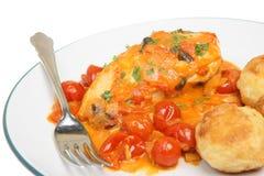 Italian Chicken Cacciatore Stock Image