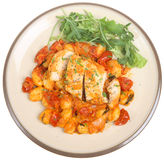 Italian Chicken Cacciatore Royalty Free Stock Photos