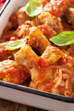 Italian chicken cacciatore Stock Images