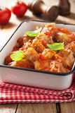 Italian chicken cacciatore Stock Photo
