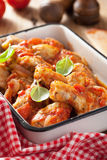 Italian chicken cacciatore Royalty Free Stock Images
