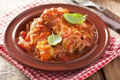 Italian chicken cacciatore Royalty Free Stock Photo